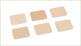 UVパクトレフィル(パフ付)6色